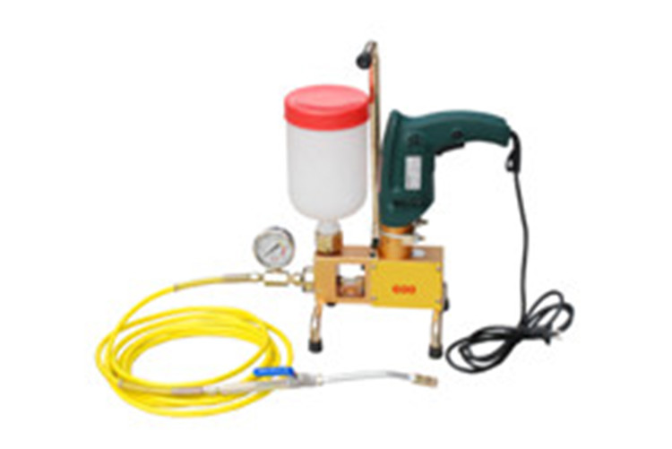 Single-component High-pressure grouting injection pump for crack repair